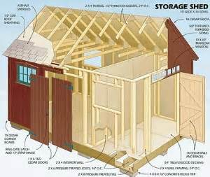 Shed plans free 12 215 16 shed plans kits