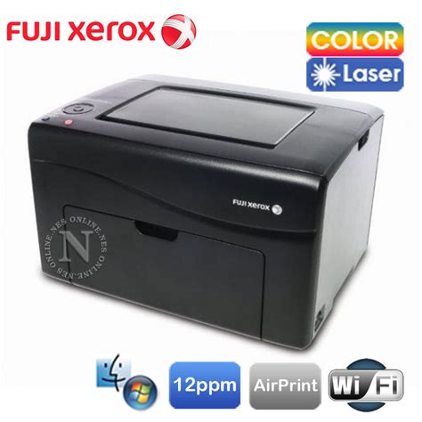 Printer Laser Xerox Cp115w fuji xerox cp115w wireless color laser network printer