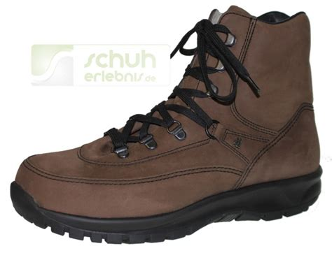 finn comfort de finn comfort chaussure de marche toelz marron bosco