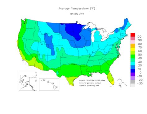 us temperature map february climate prediction center monitoring and data united