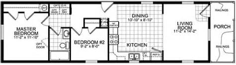 Single Wide Mobile Home Plans » Home Design 2017