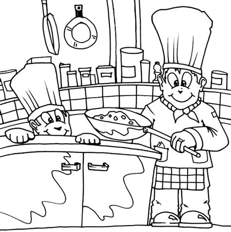 kitchen objects coloring pages free coloring pages of kitchen objects
