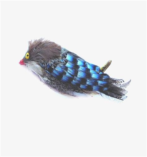 Handcrafted Birds - vintage handmade bird brooch feather pin