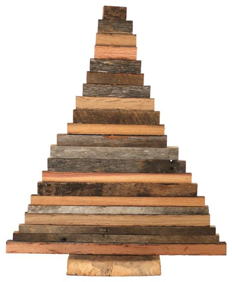 barn wood christmas tree rustic christmas trees by