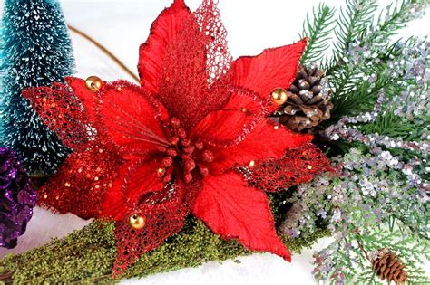 christmas floral picks and stems floral stems wholesale