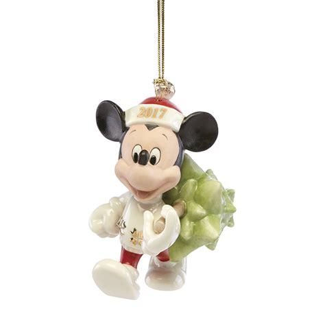 disney mickey mouse ornament trimming the tree 2017