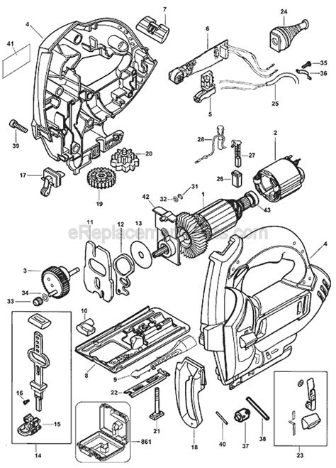Black And Decker Js600 Parts List And Diagram Type 1