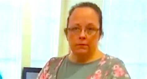 Rowan County Clerk Of Court Records Davis The Kentucky Clerk Denying Licenses To Couples Has Been