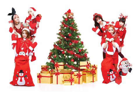 christmas kpop wallpaper t ara kpop k pop electropop r b tara tiara christmas