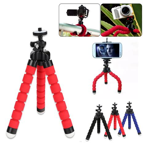 Robot Standing Iphonesamsung mini tripod octopus holder stand mount for iphone