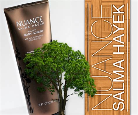 Nusense Scrub i m sensing some friction between the new nuance salma hayek walnut scrub and i makeup