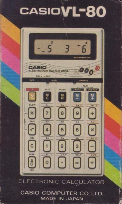 Kalkulator Casio Seri Financial the musical casio pocket computers calculators