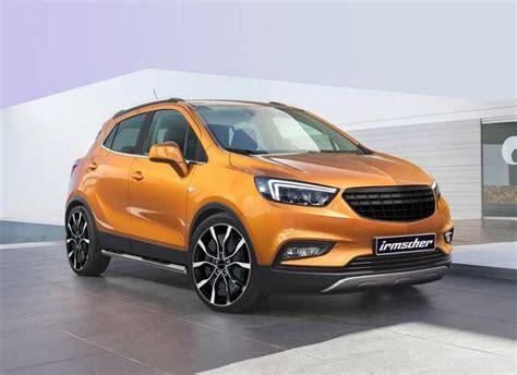 Opel Mokka X Aufkleber by Irmscher Umfangreiches Tuning Am Neuen Opel Mokka X