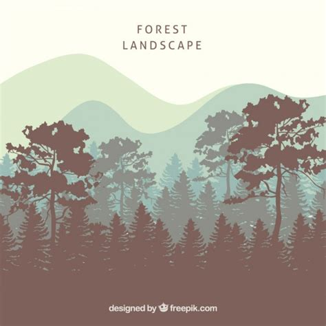 Landscape Definition Graphic Design Forest Vectors Photos And Psd Files Free