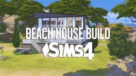 the sims 4 speed build dillan s modern beach home youtube the sims 4 speed build modern beach house youtube