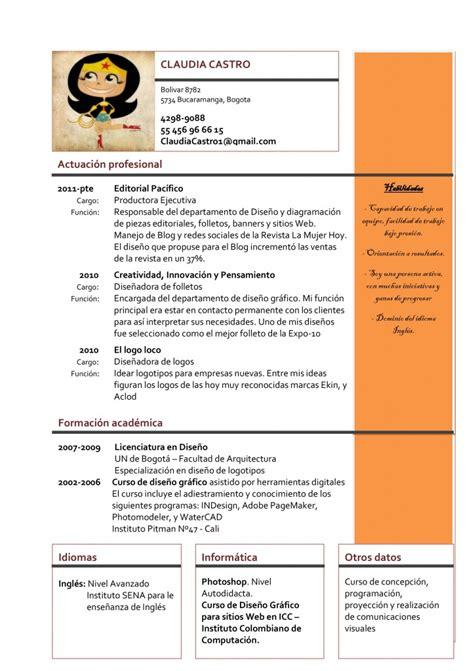Plantillas De Curriculum Vitae Para Mujer Modelo De Plantilla Para Dise 241 O Gr 225 Fico 01 Curr 237 Culum Entrevista Trabajo