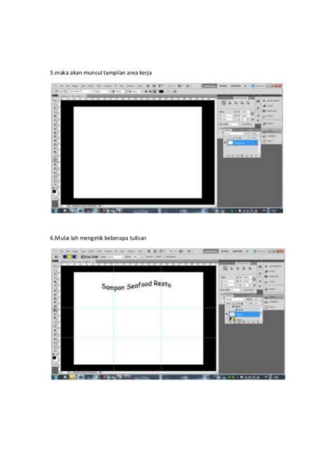 membuat iklan menggunakan photoshop berikut ini merupakan cara untuk membuat brosur