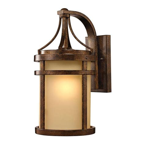 Metal Depot 4934 by Titan Lighting Chantal Collection Hazelnut Bronze Outdoor