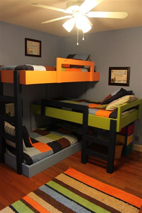 1000 Images About Bunk Bed Ideas On Pinterest Built In Bunk Bed Ideas