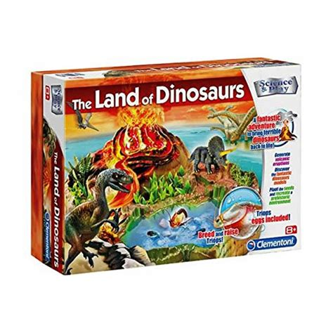 Land Of The Dinosaurs science play the land of the dinosaurs clementoni from craftyarts co uk uk