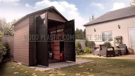 Composite Storage Sheds by Wood Plastic Composite Shed Keter Fusion