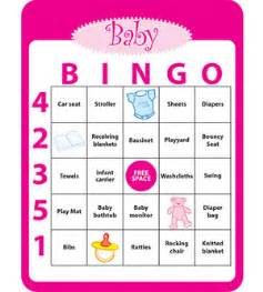 baby shower bingo cards template baby shower c r a f t