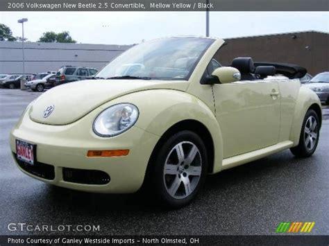 2006 yellow volkswagen beetle mellow yellow 2006 volkswagen new beetle 2 5 convertible