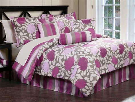 purple flower comforter large flower lavender purple blossom comforter bedding set