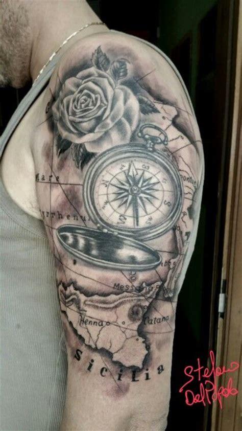 tattoo ideas zone compass map rose tattoos pinterest compass