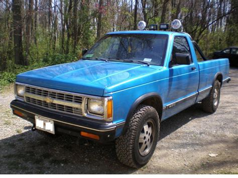 1991 chevrolet s 10 information and photos zombiedrive