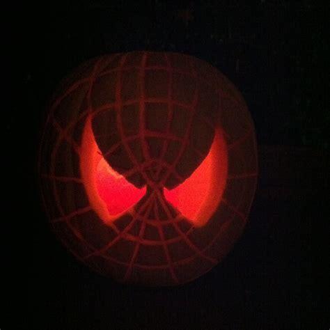 spiderman pattern for pumpkin spider man pumpkin thinkgeekoween pumpkin ideas