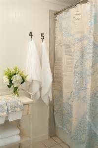 items similar to shower curtain nautical chart
