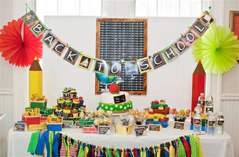 Back To School Decorating Ideas by The Fetti