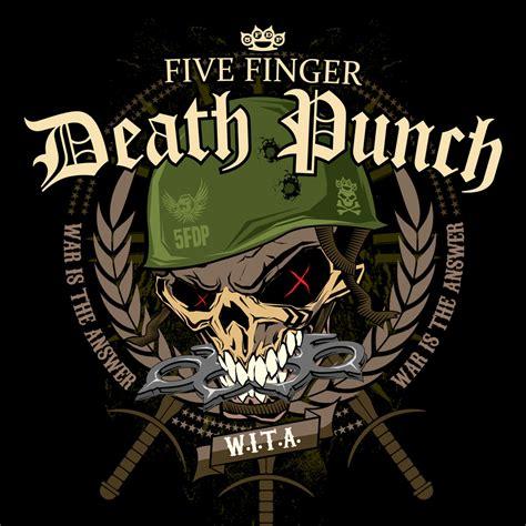 pin five finger death punch logo background wallpaper