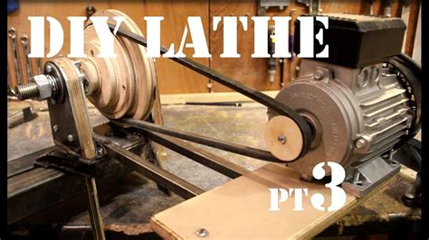 woodworking motors how to make a wood lathe from scratch motor and tails