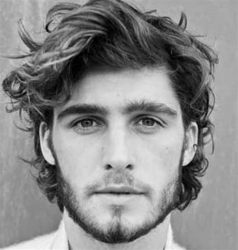 slightly curly man hair 21 wavy hairstyles for men men s hairstyles haircuts 2017