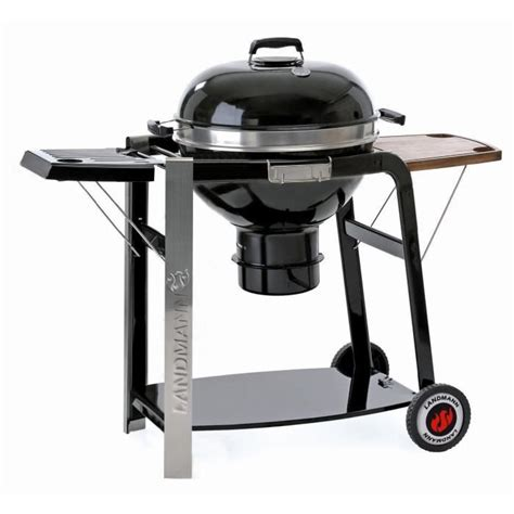 barbecue landmann landmann barbecue charbon black pearl select achat vente barbecue barbecue black pearl