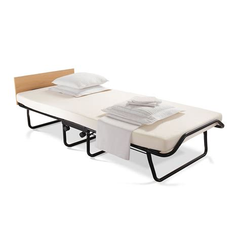 Folding Single Bed Impression Folding Bed With Memory Foam Mattress Single At Wilko