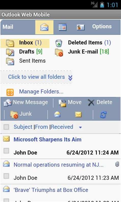 outlook web app mobile owm for outlook email owa android apps on play