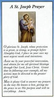 st joseph home prayer joseph