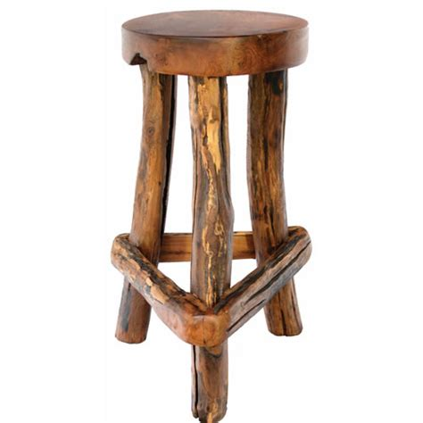 Rustic Bar Chairs by Groovystuff Butcher S Rustic Teak Chair Tf 315 By Www