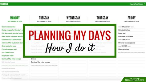 how does planning your tasks before undertaking them assist workflow how does planning your tasks before undertaking them