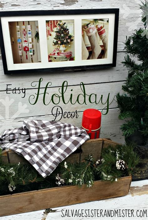 15 chrustmas decir items you wont have to take down happy holidays easy decor tatertots and jello