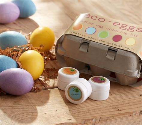 easter egg coloring kit eco eggs coloring kit pottery barn