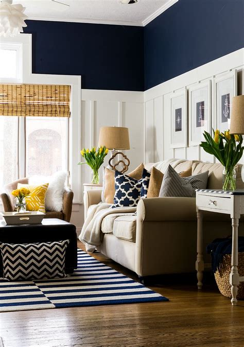 Navy Blue Living Room Ideas Adorable Home by Pictures Of Navy Blue Living Rooms Www Periodismosocial Net