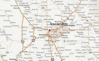 sacramento california map sacramento location guide