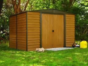 Small Metal Storage Sheds Arrow Sheds Prefab Garden 6x5 Small Diy Outdoor Steel Tool