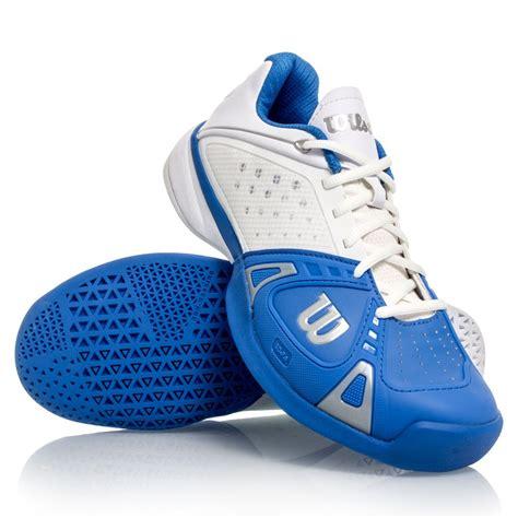 wilson pro hc mens tennis shoes pool white silver