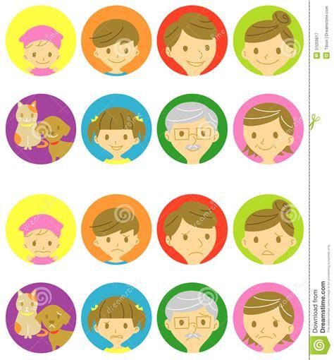 imagenes de niños alegres y tristes caras felices de la familia y caras tristes fotograf 237 a de