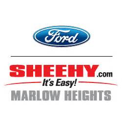 Sheehy Ford Marlow Heights by Sheehy Ford Of Marlow Heights In Marlow Heights Md 20746